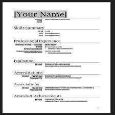 resume template on microsoft word free basic resume templates microsoft word 66 images microsoft