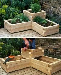 raised herb garden planter ideas quick video instructions