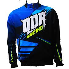 desain jaket racing jaket drag race qdr racing blue custome qdr online shop