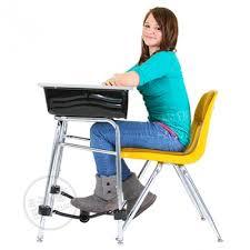 Under The Desk Foot Rest by The Original Footfidget Footrest Portable Classroom Footrest