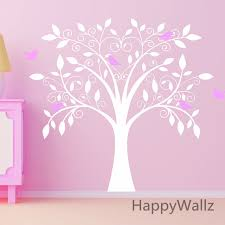 aliexpress buy baby nursery tree wall sticker birds tree