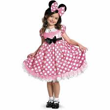 Glow Dark Halloween Costumes Disney Mickey Mouse Clubhouse Pink Minnie Mouse Glow Dark