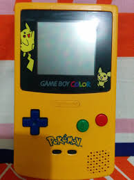 Gameboy Color Gameboy Color Pikachu Edition Club Retro Gamer by Gameboy Color