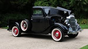 Vintage Ford Pickup Truck - 1936 ford pick up for sale all steel flathead v8 beautifully