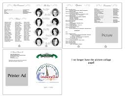 exles of funeral programs musical program template paso evolist co