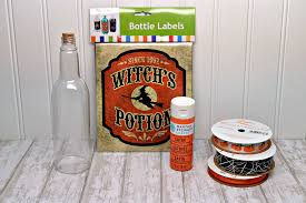 potion bottles for halloween diy halloween potion bottles decoration three different directions