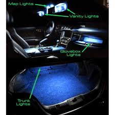 Led Light Bulbs For Car Interior by Diode Dynamics Mustang Led Interior Light Conversion Kit 2015 2017