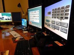Computer Setup Room Epsilon U0027s Amiga Blog Computer Room Reconfiguration And Ng Amiga Games