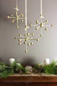 a handcrafted affair diy atomic starburst ornaments