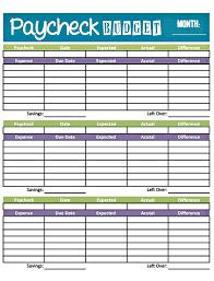 printable budget worksheet template free worksheets library