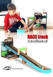 krokotak ikea cardboard boxes race track