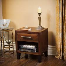 mahogany nightstands you u0027ll love wayfair