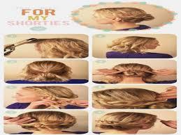 hair tutorials for medium hair cute easy messy bun hairstyle tutorial for medium to long hair