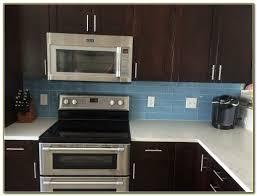 kitchen backsplash dark cabinets kitchen backsplash glass tile dark cabinets tiles home