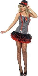 Gangster Woman Halloween Costumes Fever Gangster Costume 22794 Fancy Dress Ball