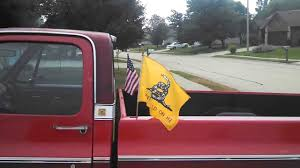 Flag Pole Mount For Truck Bed How To Attach A Flag To The Bed Of Your Truck Youtube