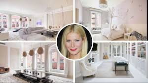 gwyneth paltrow u0027s 12 8 million tribeca apartment youtube