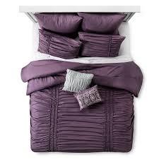 Purple Ruffle Comforter Xhilaration Bedding Sets U0026 Collections Target