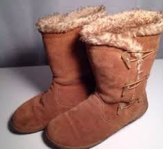s suede boots size 9 clark s suede fur lined boots size 9 ebay