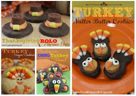 turkey cookies for thanksgiving kid s food craft edible oreo acorns