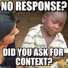 No Response Meme - no response third world skeptical kid meme on memegen