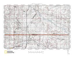Battle Creek Michigan Map by Spring Creek Battle Creek Drainage Divide Area Landform Origins
