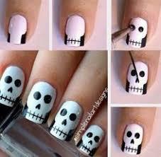 imagenes de uñas decoradas de jalowin uñas decoradas de halloween 2014 40 ejemplos decoración de uñas