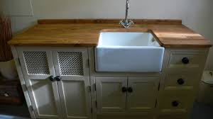 belfast sink unit with large cupboard space for dishwasher the