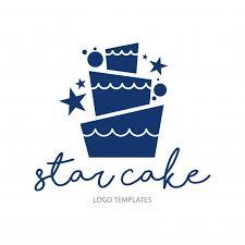 wedding cake logo wedding cake logo template vector premium