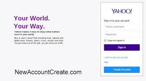Yahoo Sign In Yahoo Mail Sign In How To Sign In To Yahoo With Pictures