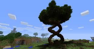spiral tree minecraft project