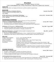 Director Of It Resume It Resumes Resume Templates
