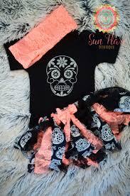 Halloween Baby Shirt Sugar Skulls Girls U0027 Clothing Baby Halloween Halloween