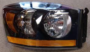 dodge ram headlight 06 08 dodge ram 1500 2500 3500 black headlight conversion