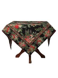tablecloth for 54x54 table merry tablecloth black your home christmas forever beautiful