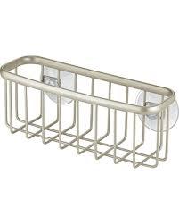 Kitchen Sink Holder by Bargains On Interdesign Axis Kitchen Sink Suction Holder For