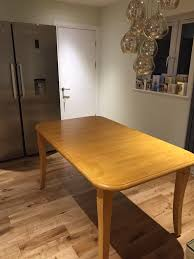 REDUCED PRICE John Lewis Rubber Wood Dining Table And Chairs In - Rubberwood kitchen table