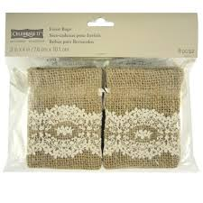 lace favor bags celebrate it occasions burlap lace favor bags 3 x 4