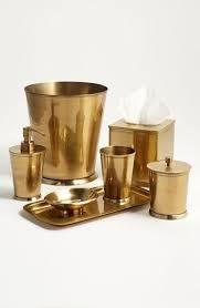 Nicole Miller Bathroom Accessories by Brass Bathroom Accessories Home Pinterest Brass