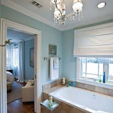 travertine and blue bathrooms spa blue paint color contemporary