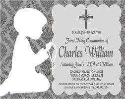 communion invitations boy communion invitation shadow kneeling damask boy or girl