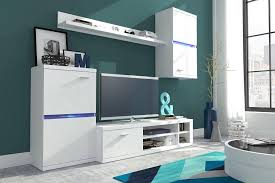 Living Room Furniture Set Display Wall Unit Modern TV Unit Cabinet - Living room furniture sets uk
