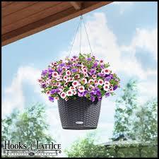 hanging baskets u0026 hanging basket brackets hooks u0026 lattice
