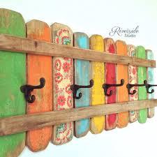 Home Decorations Canada Rustic Home Decor Coat Rack Handmade Reclaimed Wood Bohemian