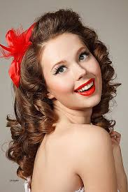evening hairstyles for over 50s long hairstyles luxury 50s pin up hairstyles for long hair 50s
