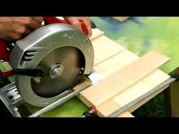 table saw with dado capacity dado cuts with a circular saw by matthis wandel via youtube com