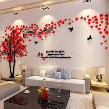 living room trees 3d couple tree wall murals for living room bedroom sofa backdrop