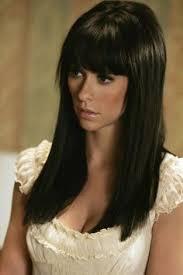 ghost whisperer hair long brunette hair with fringe google search new hair