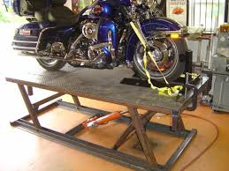 motorcycle lift table plans im looking for a motorcycle lift for my streetglide page 7