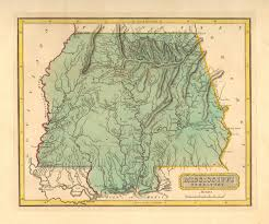 Map Of Ms Antique Maps Of Mississippi
